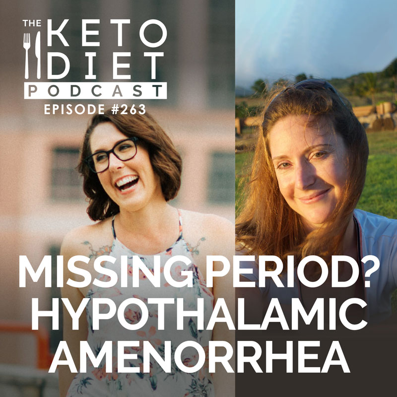 #263 Missing Period? Hypothalamic Amenorrhea with Marie Young