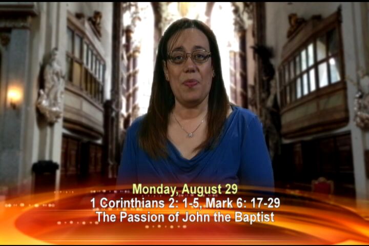 Artwork for Monday, August 29, 2016 Today's Topic: Passion of John the Baptist