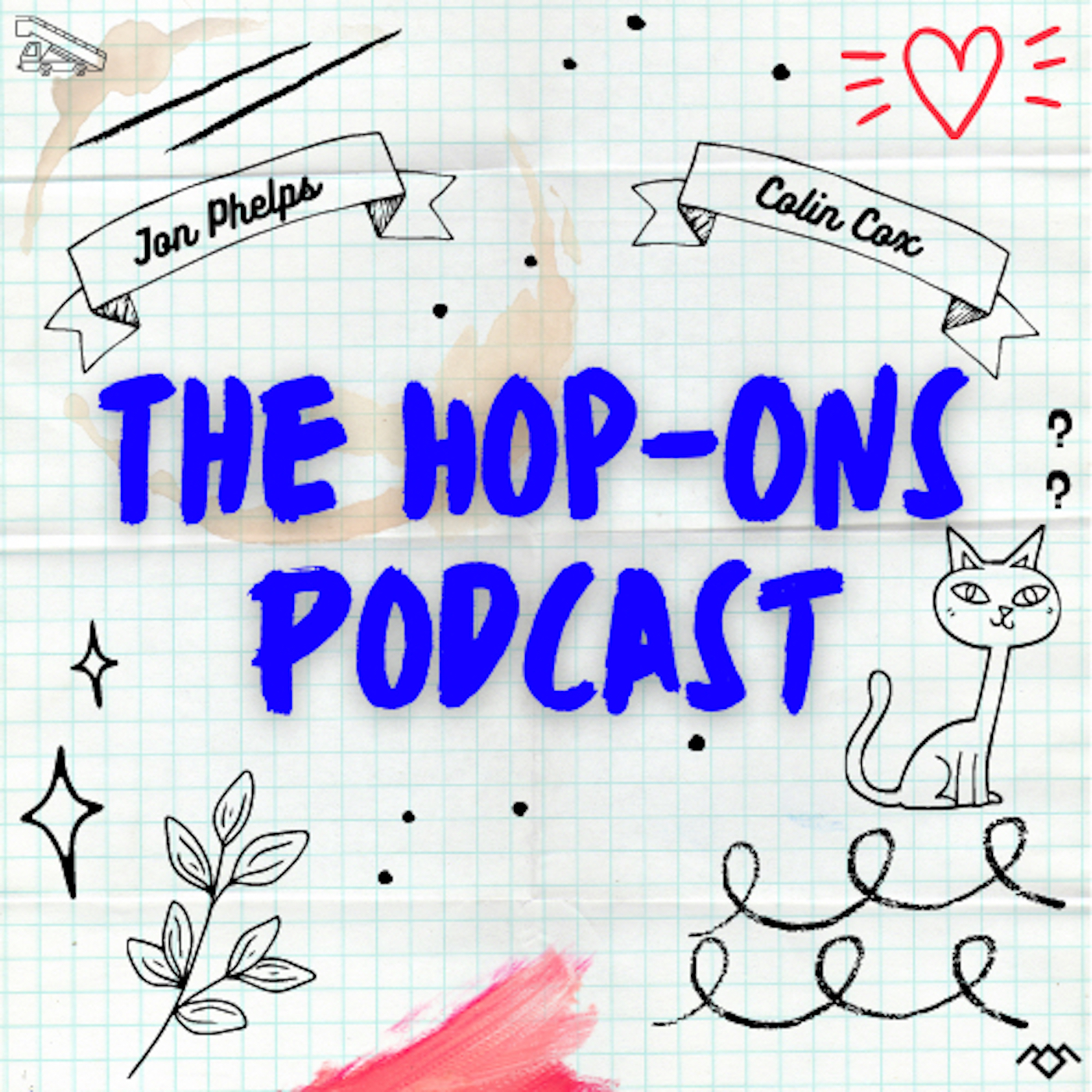 The Hop-Ons Podcast: An Arrested Development/Twin Peaks/Community Podcast