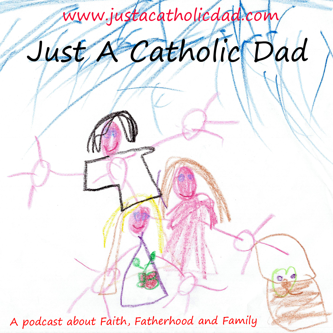 Artwork for Just A Catholic Dad 46 - Sweeping Up For Summer