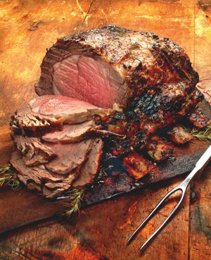 Recipe of the Week: Plank-Roasted Prime Rib