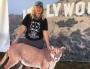 Artwork for Beth Pratt : California Executive Director of National Wildlife Federation and P-22 Cougar Lady!