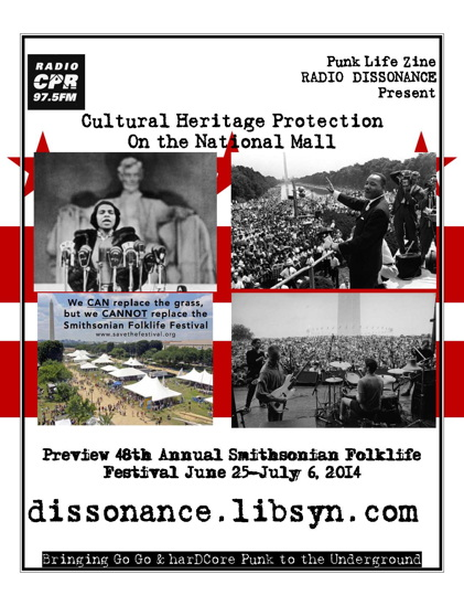 Cultural Heritage Preservation on the National Mall - with Punk Life Zine