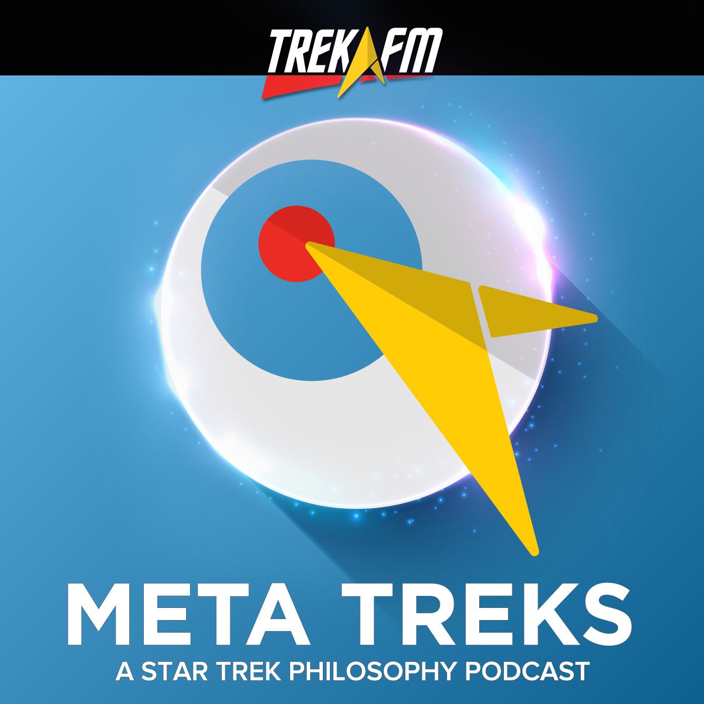 Meta Treks: A Star Trek Philosophy Podcast show art