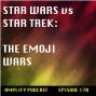 Artwork for Star Wars vs Star Trek: The Emoji Wars