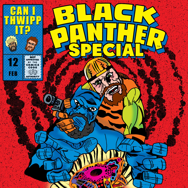 Artwork for #12 Black Panther Special