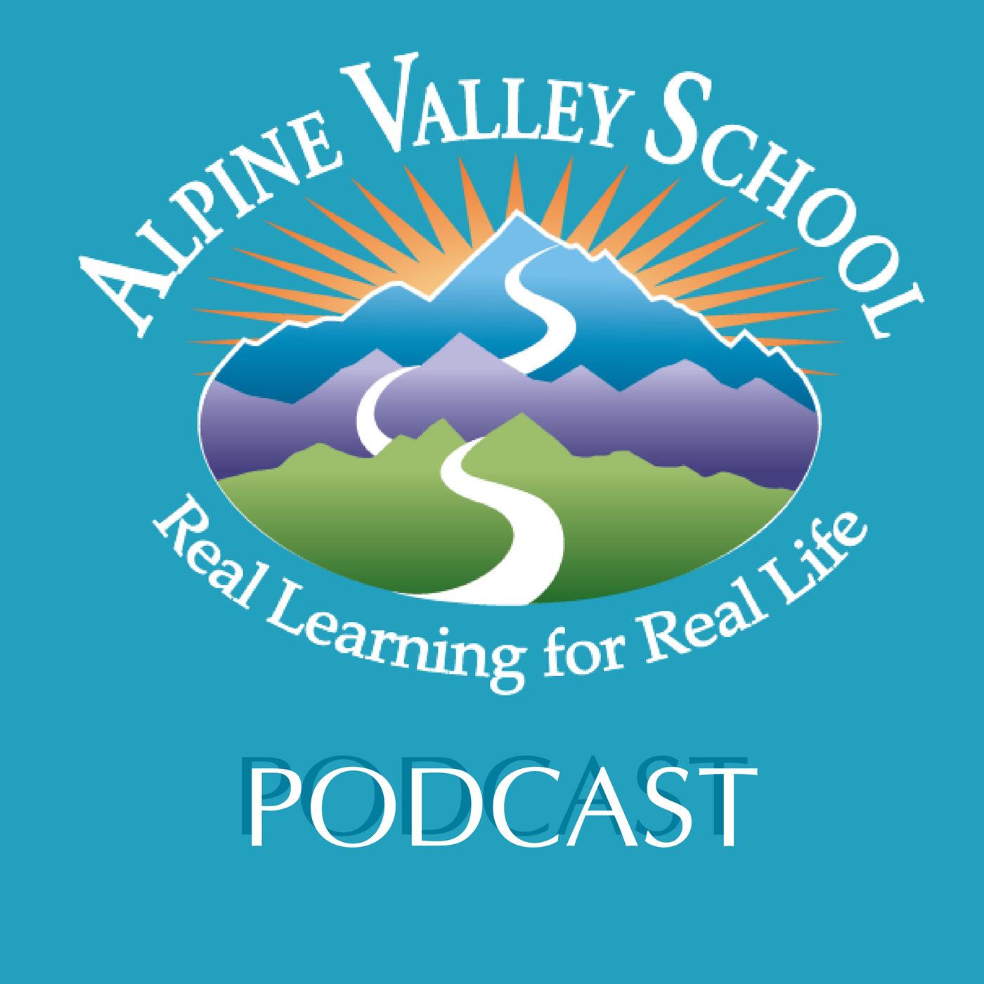 Alpine Valley School Podcast show art