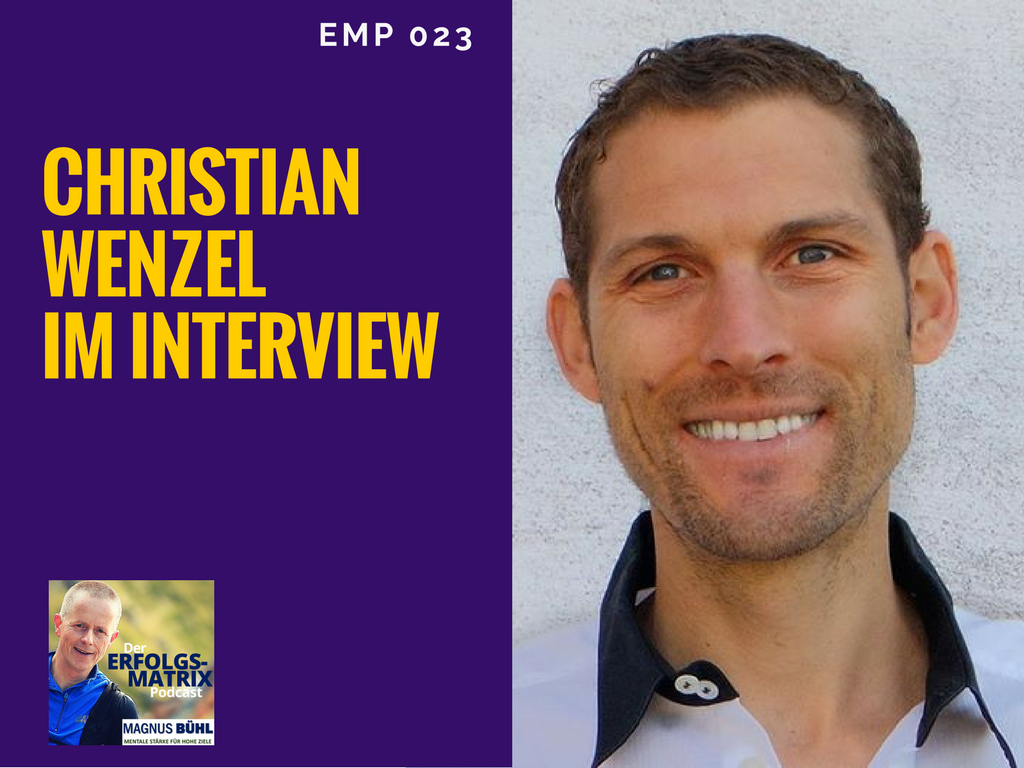 Christian Wenzel im Interview