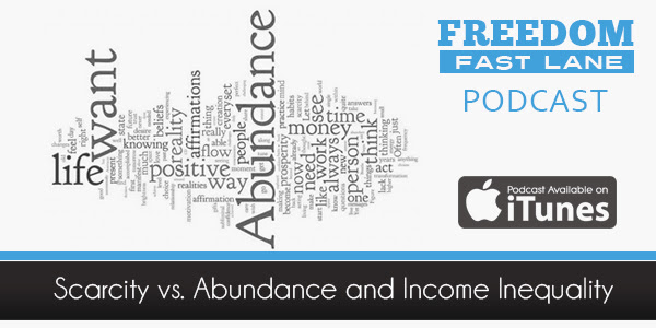 Scarcity vs. Abundance and Income Inequality