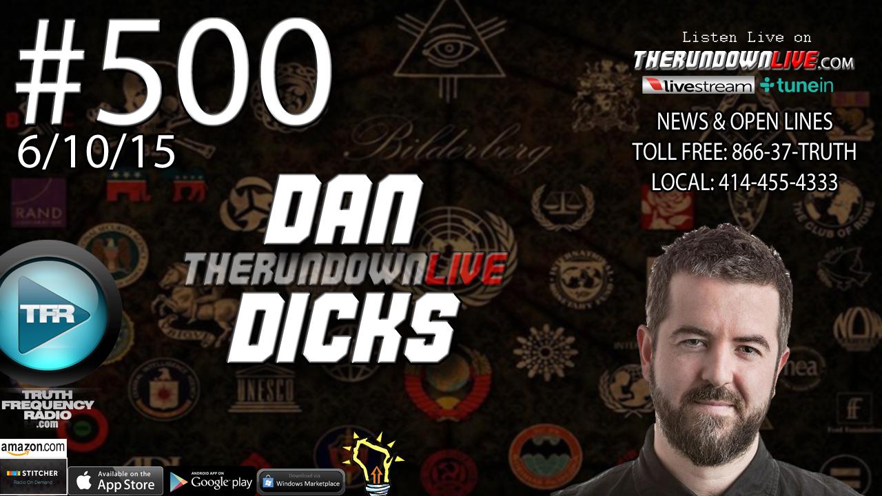 The Rundown Live #500 Dan Dicks (Bilderberg 2015, Austria, Media)