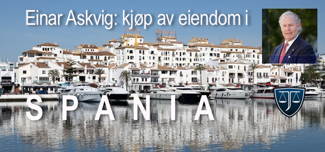 E002 - Kjøp av eiendom i Spania
