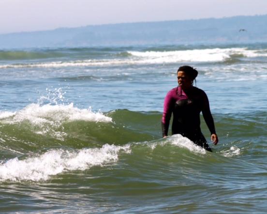 Surfer Ronda Harper