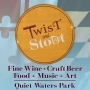 Artwork for Full Fledged Fest at Quiet Waters Park!  Twist and Stout (E-104)