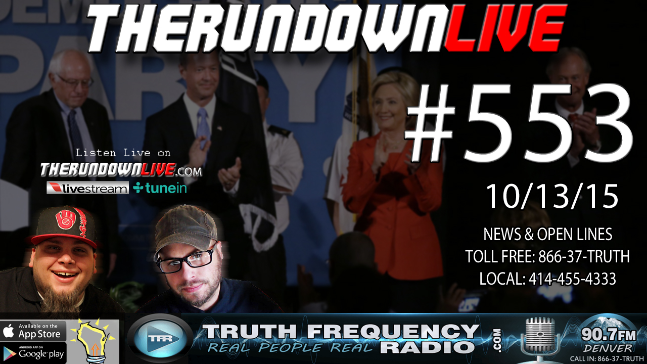The Rundown Live #553 (#DemDebate, Boring Nonsense)