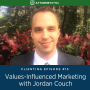 Artwork for Clienting #15: Values-Influenced Marketing with Jordan Couch