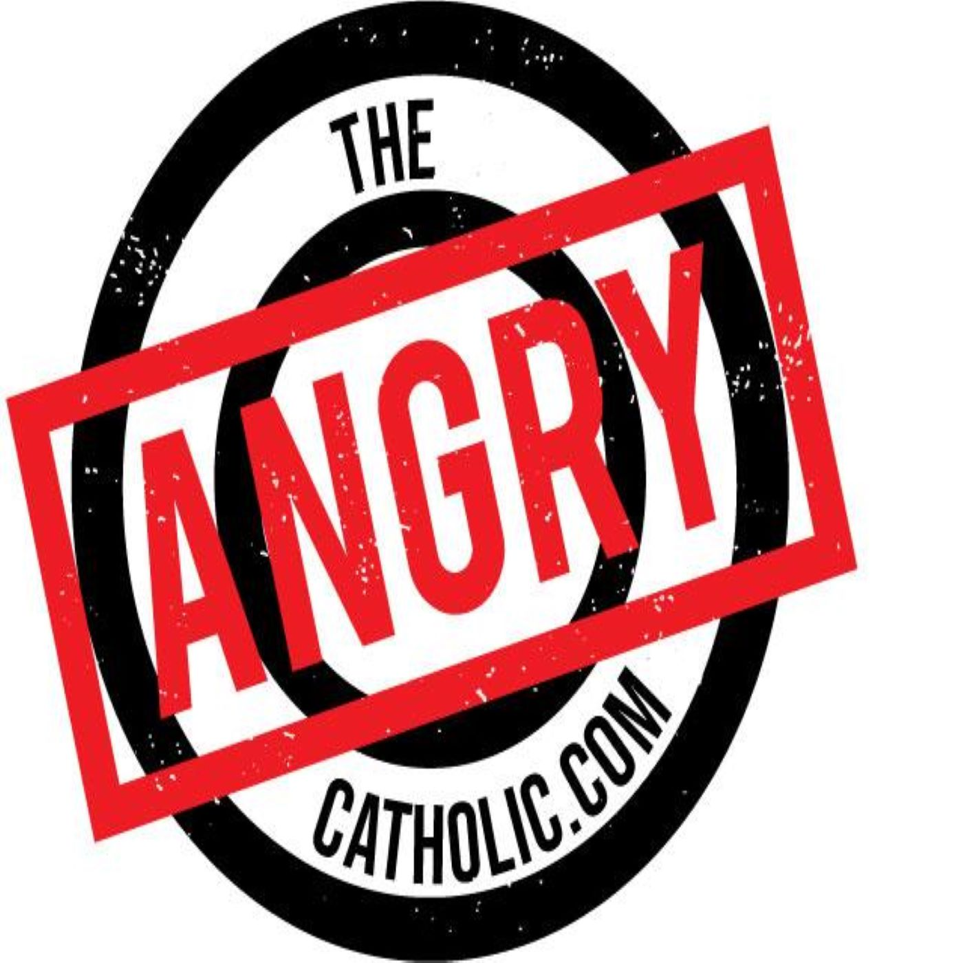 The Angry Catholic Show show art