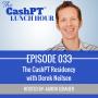 Artwork for EP 033: The CashPT Residency with Derek Nielsen