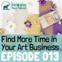 Artwork for 013: How to Find More Time for Art with Mike Michalowicz