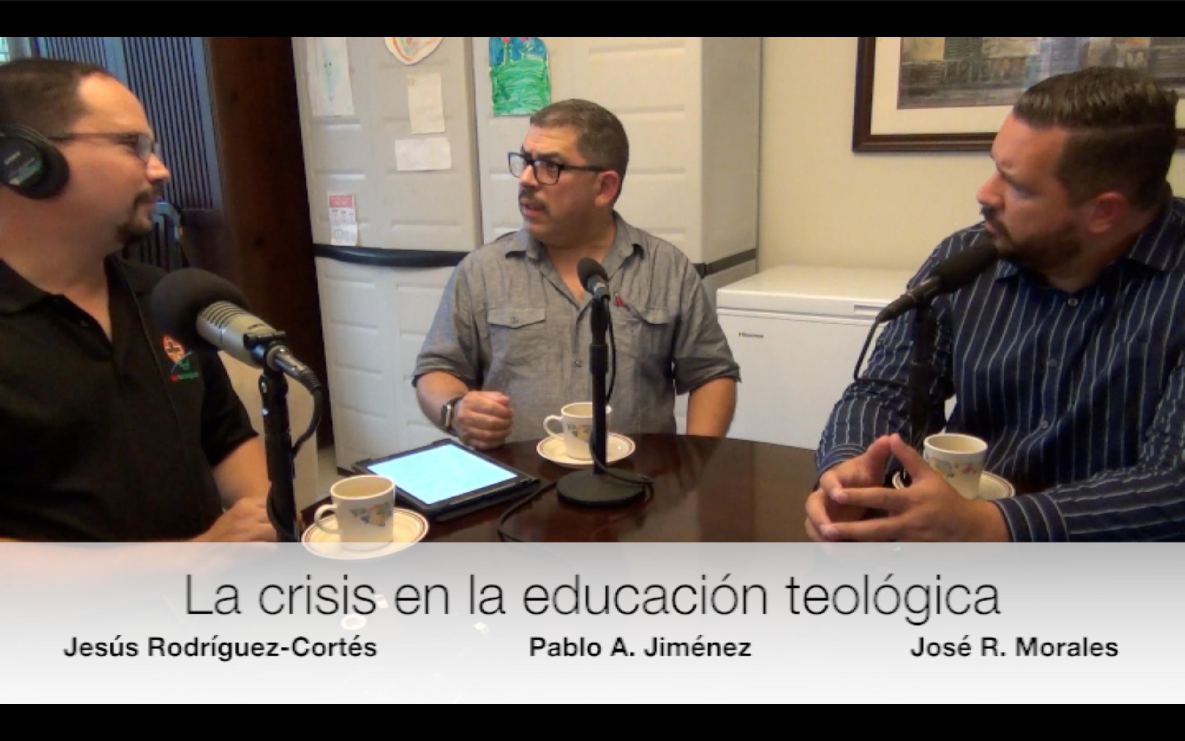 Dr. Pablo Jimenez y Rvdo. Jose R. Morales en TeoBytes