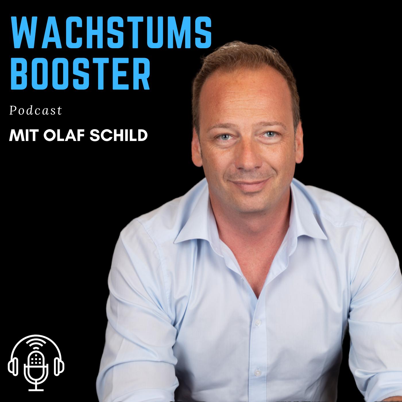 WACHSTUMS BOOSTER - Dein Podcast für Businesstipps - Motivation und mehr Erfolg in allen Lebensbereichen show art
