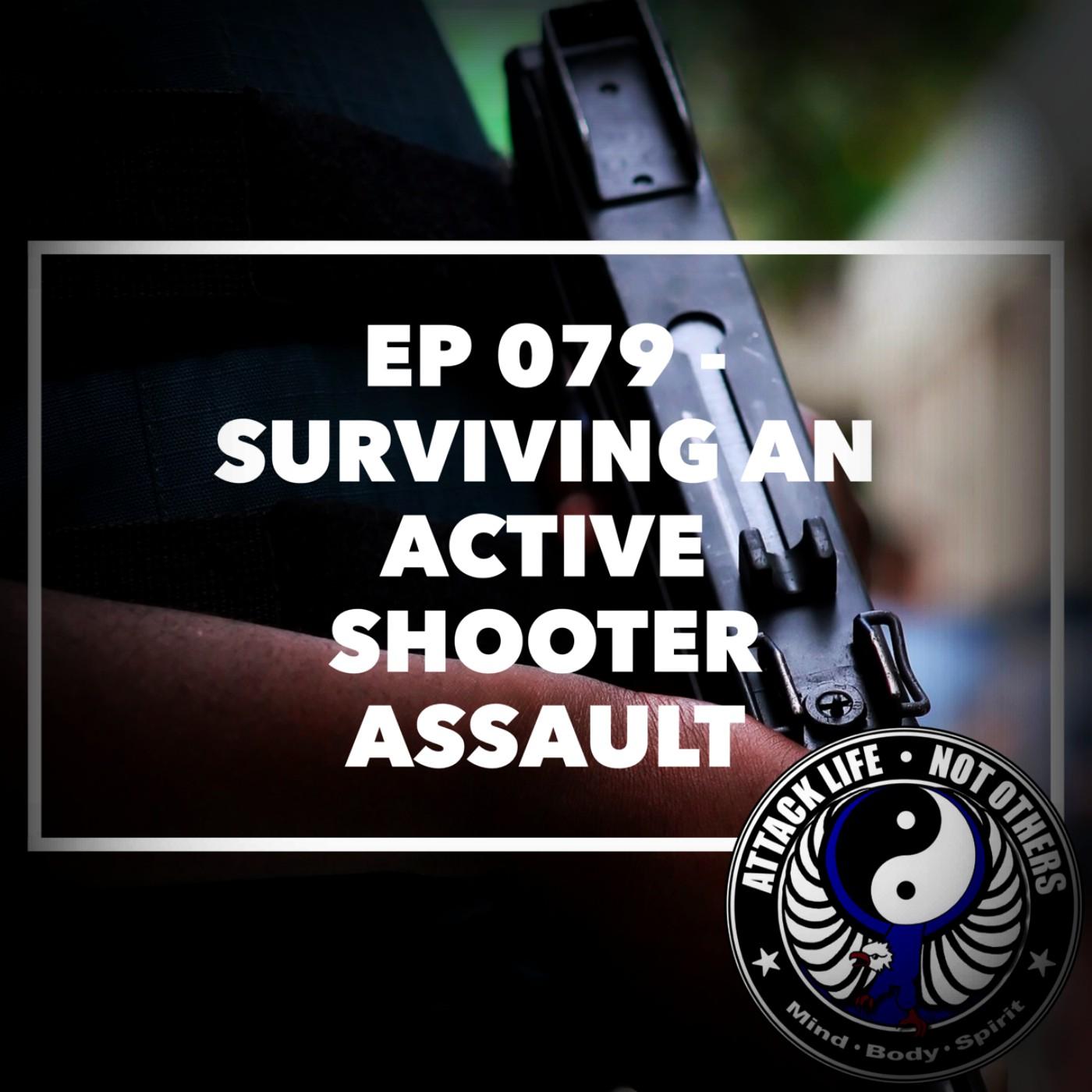 Artwork for Ep 079 - Surviving an Active Shooter Assault