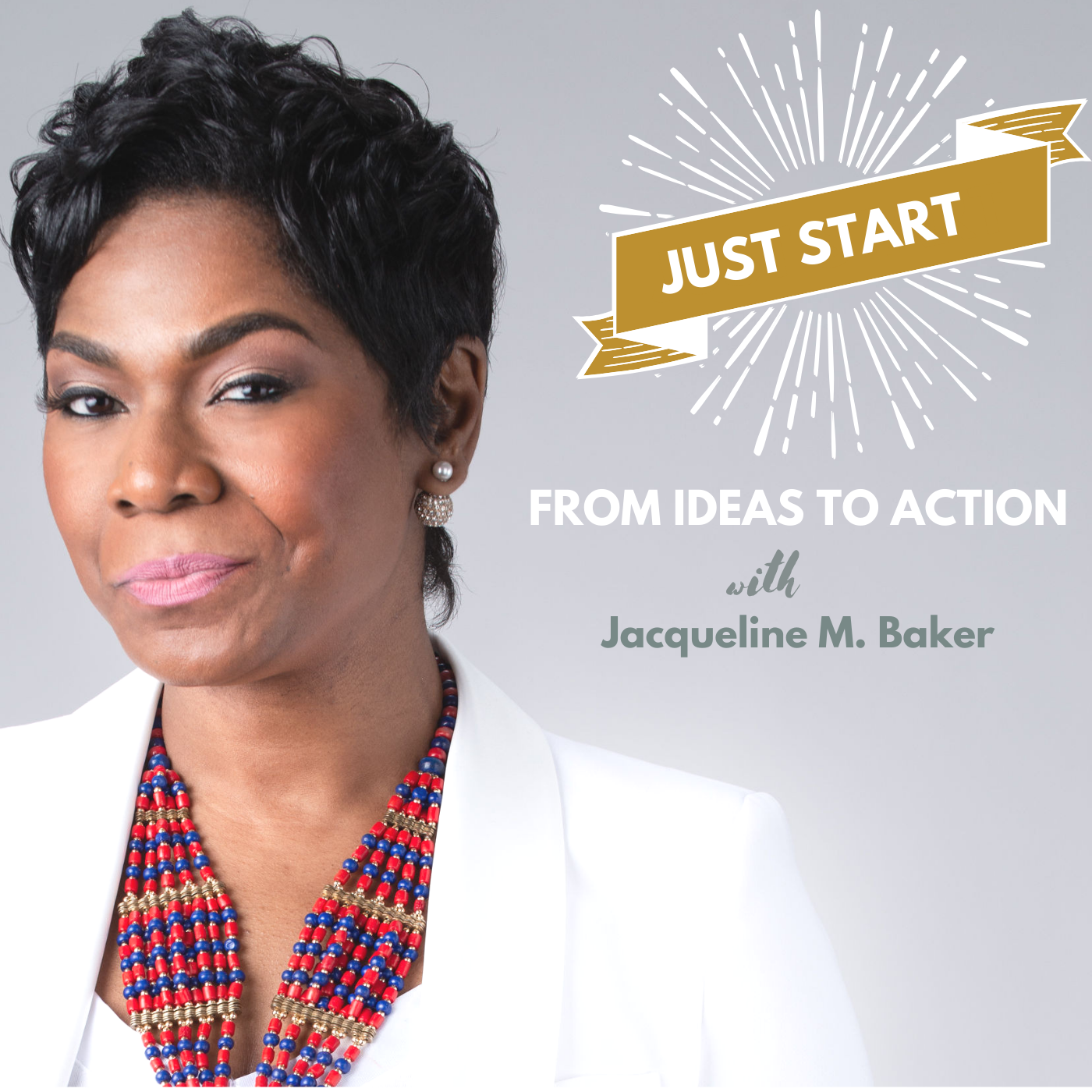 Just Start: From Ideas to Action show art