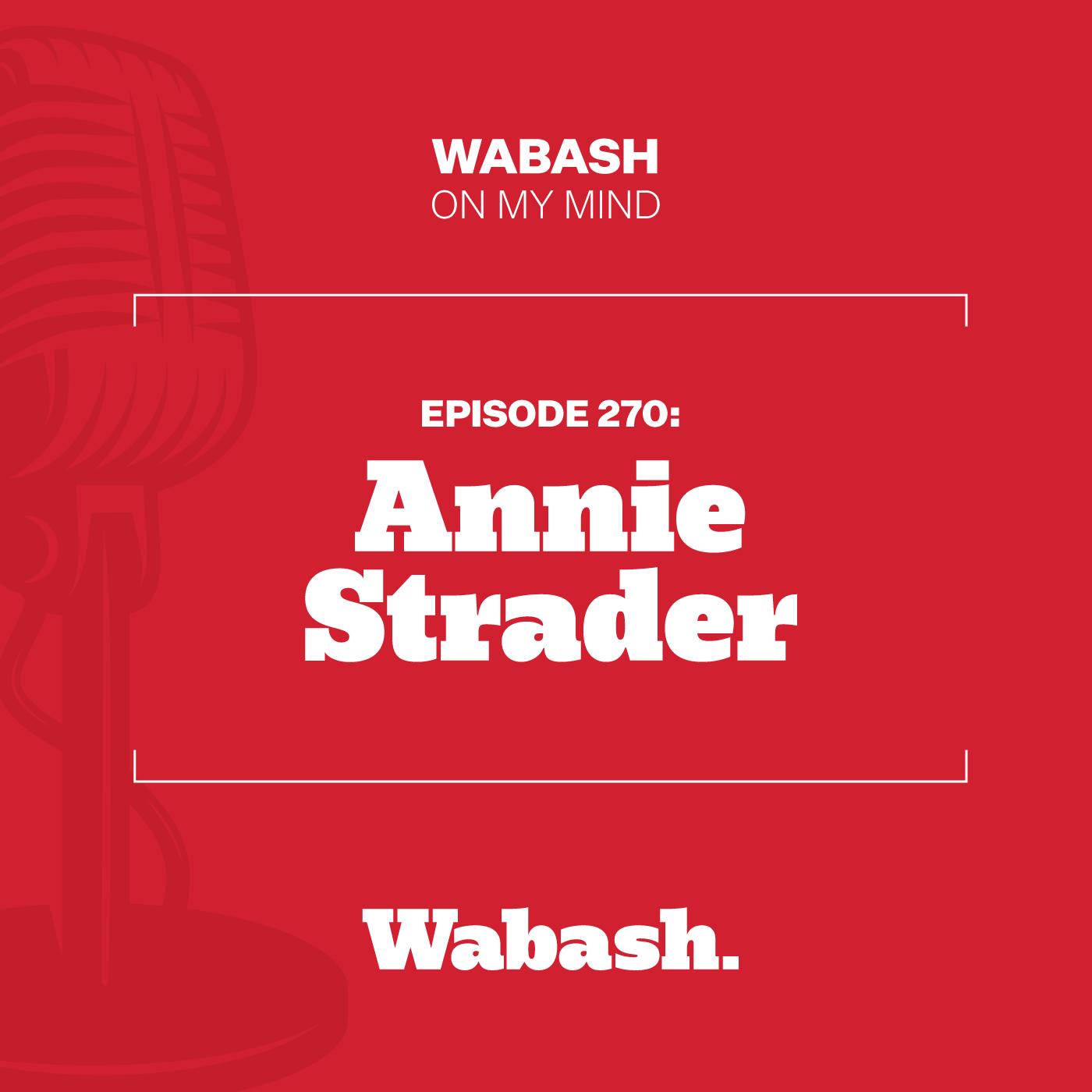 #270: Annie Strader