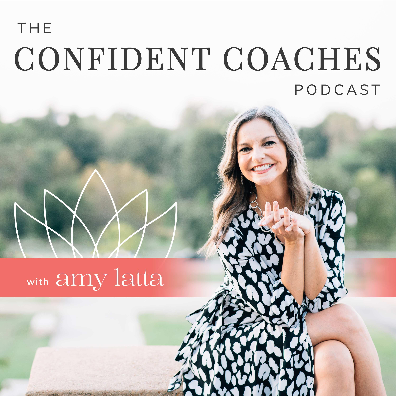 The Confident Coaches Podcast show art
