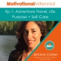 Artwork for 01: Adventure Travel, Life Purpose + Self-Care with Jennine Cohen