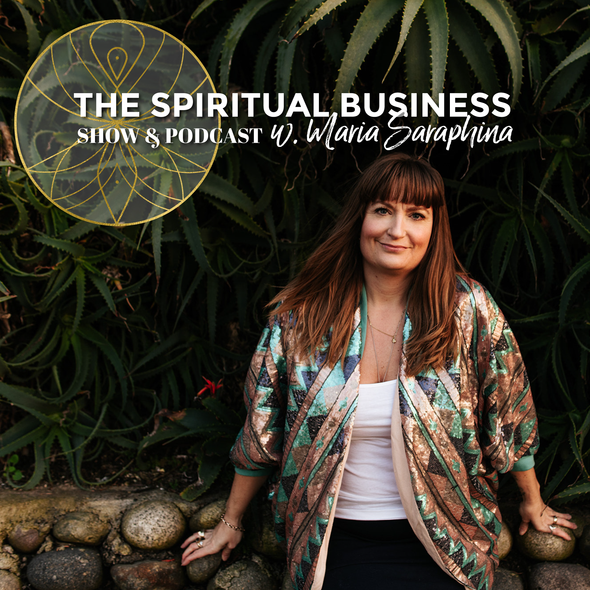 The Spiritual Business w. Maria Saraphina show art