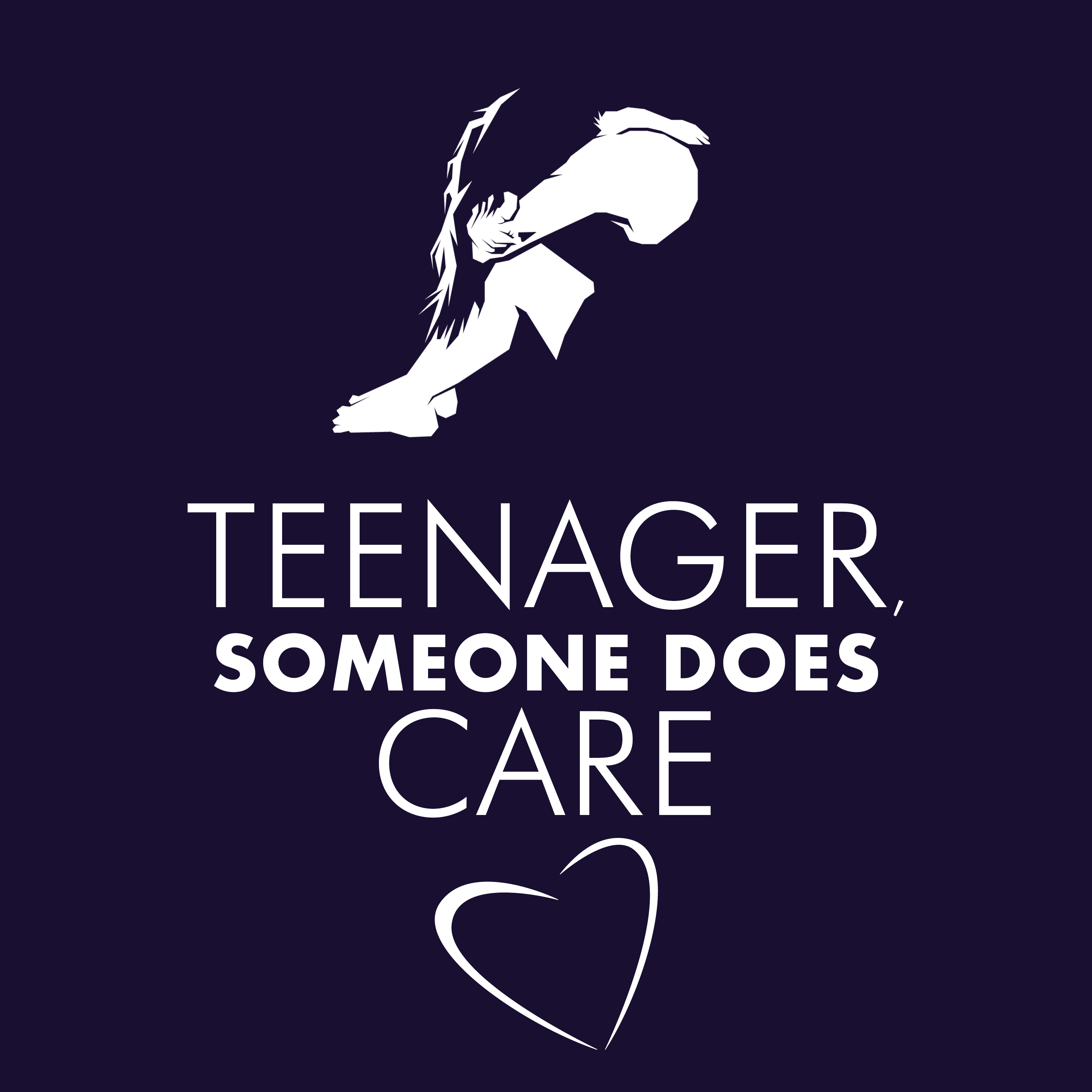 Teenager, Someone Does Care! show art