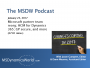 Artwork for The MSDW Podcast, January 23, 2016: Microsoft partner team reorg; HCM for Dynamics 365; GP secure, and more