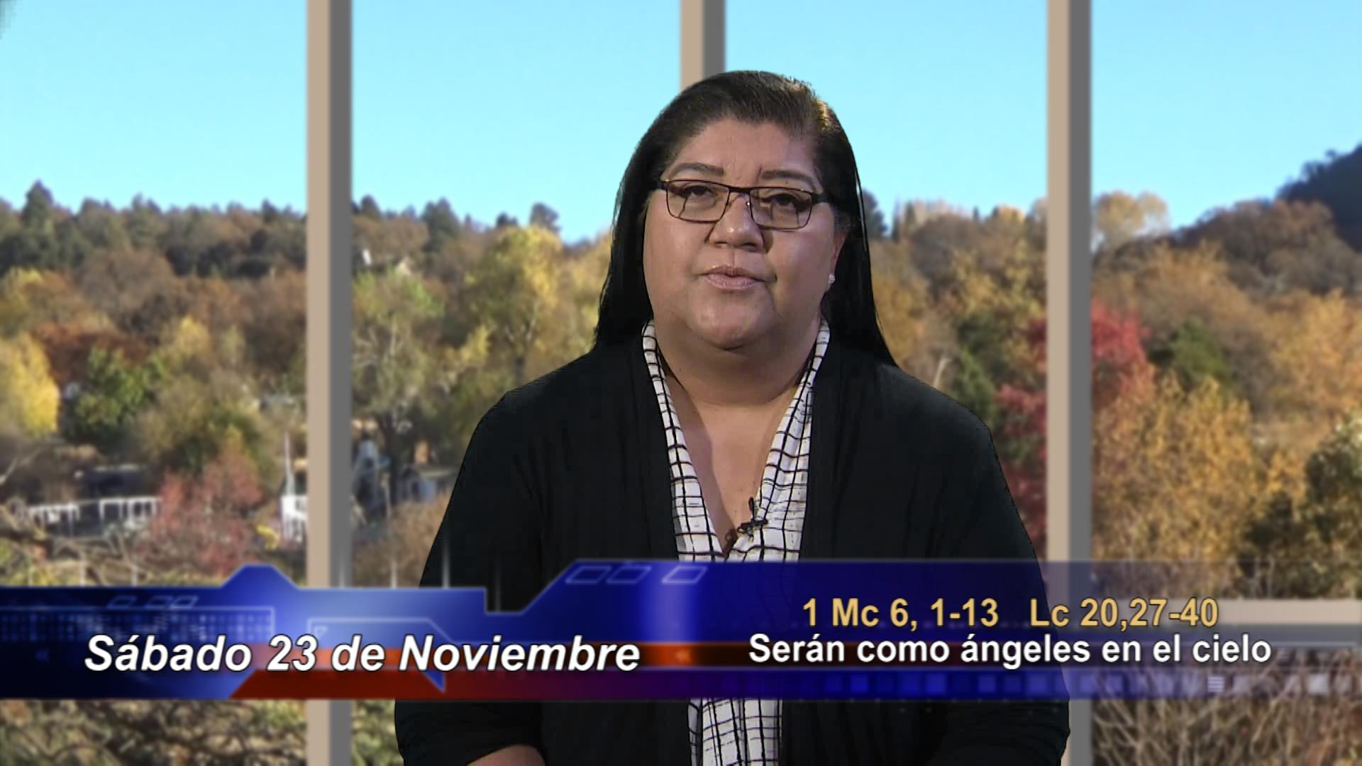 Artwork for Dios te Habla con  Maria de Lourdes Valencia; Tema el hoy: Serán como ángeles en el cielo