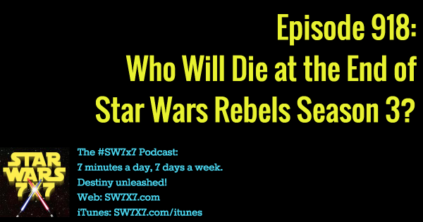 918: Who Will Die in Rebels Season 3?