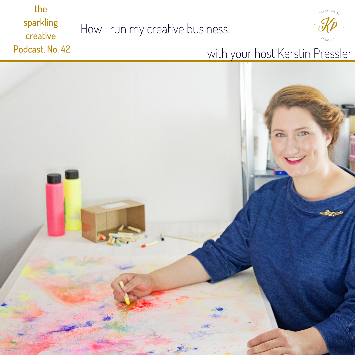 Artwork for Episode 42: How I run my creative business