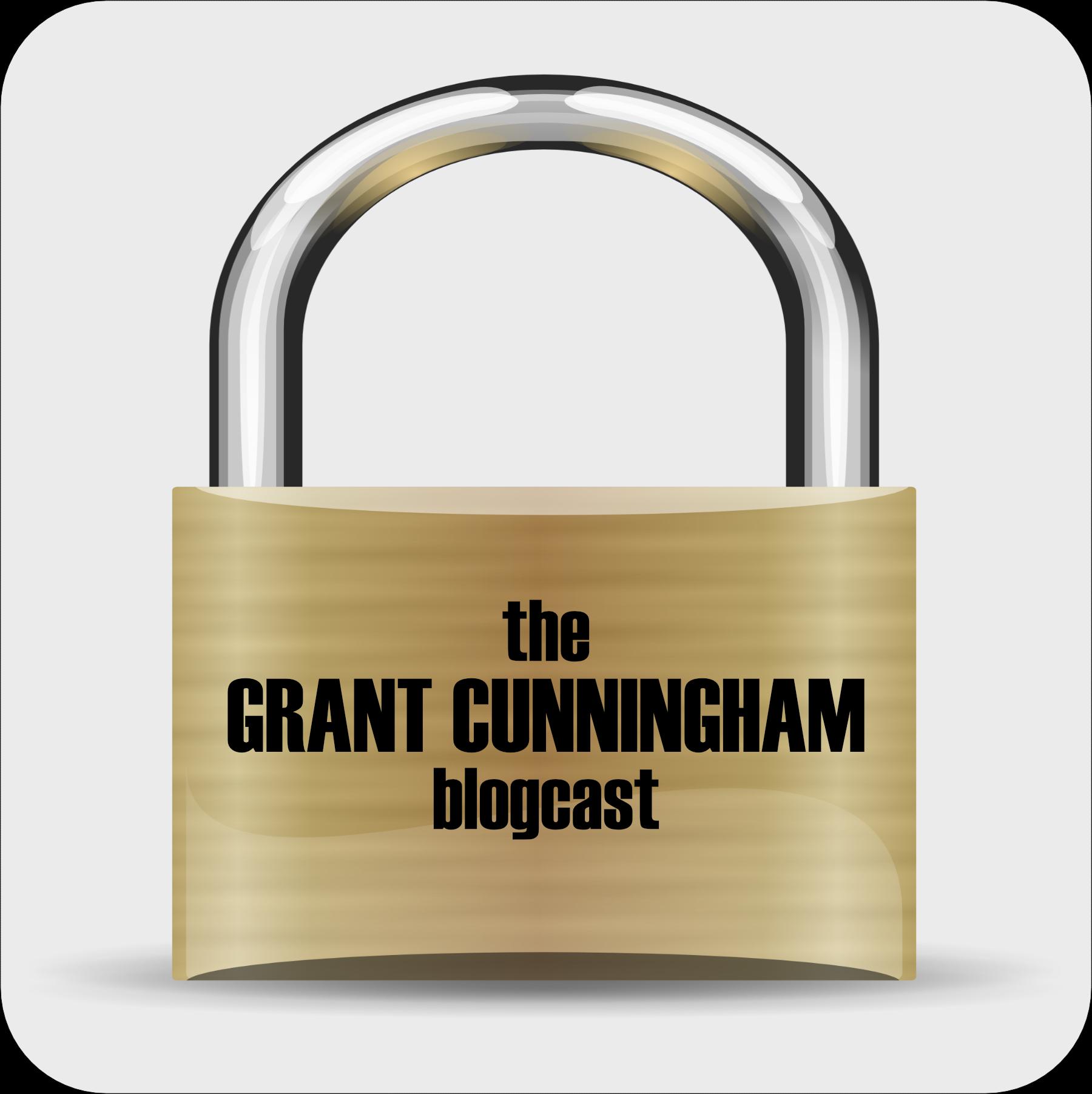 The Grant Cunningham Blogcast show art
