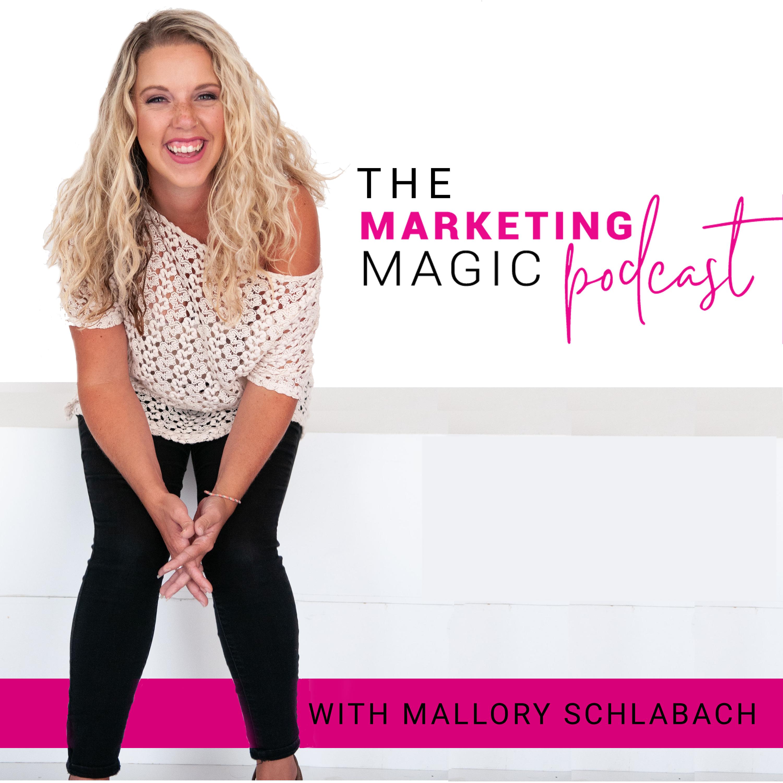 Marketing Magic show art