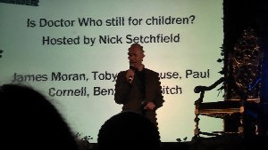 Tim's Take On: Episode 95(Is Dr Who still for children? panel at SFX Weekender 2)