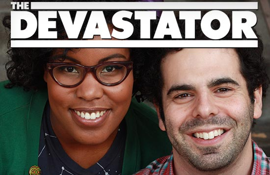 The Devastator founders Amanda Meadows and Geoffrey Golden