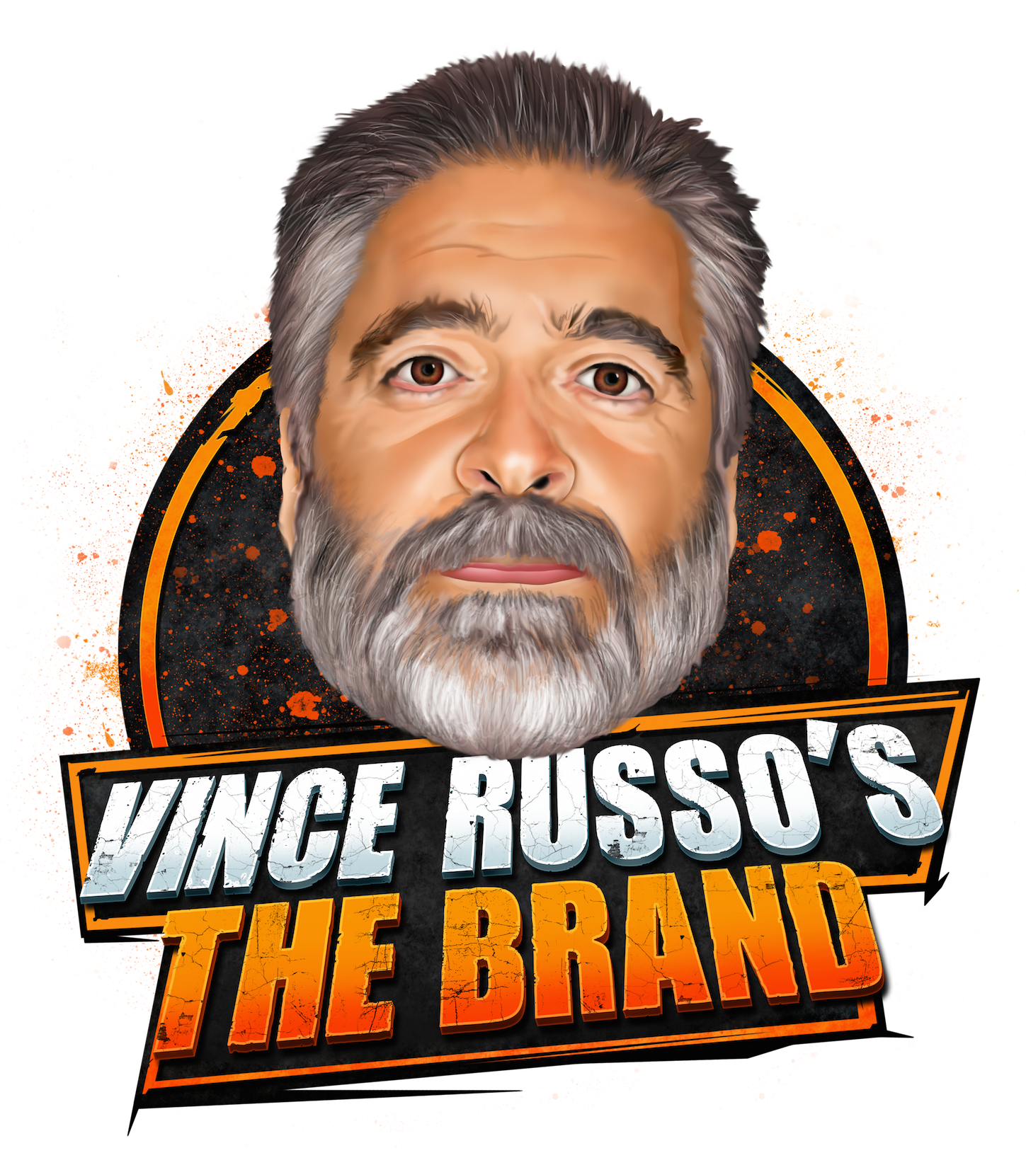 Vince Russo's The Brand show art