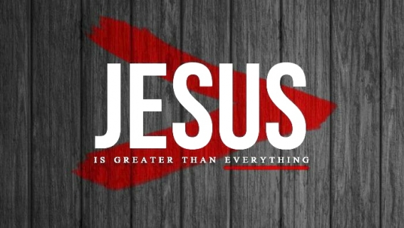 jesus is greater than everything rob hager