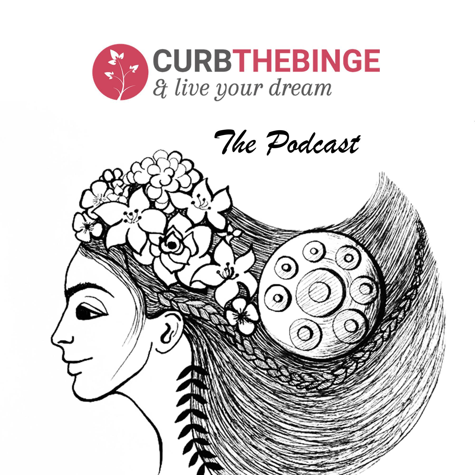 Curb the Binge: The Podcast show art
