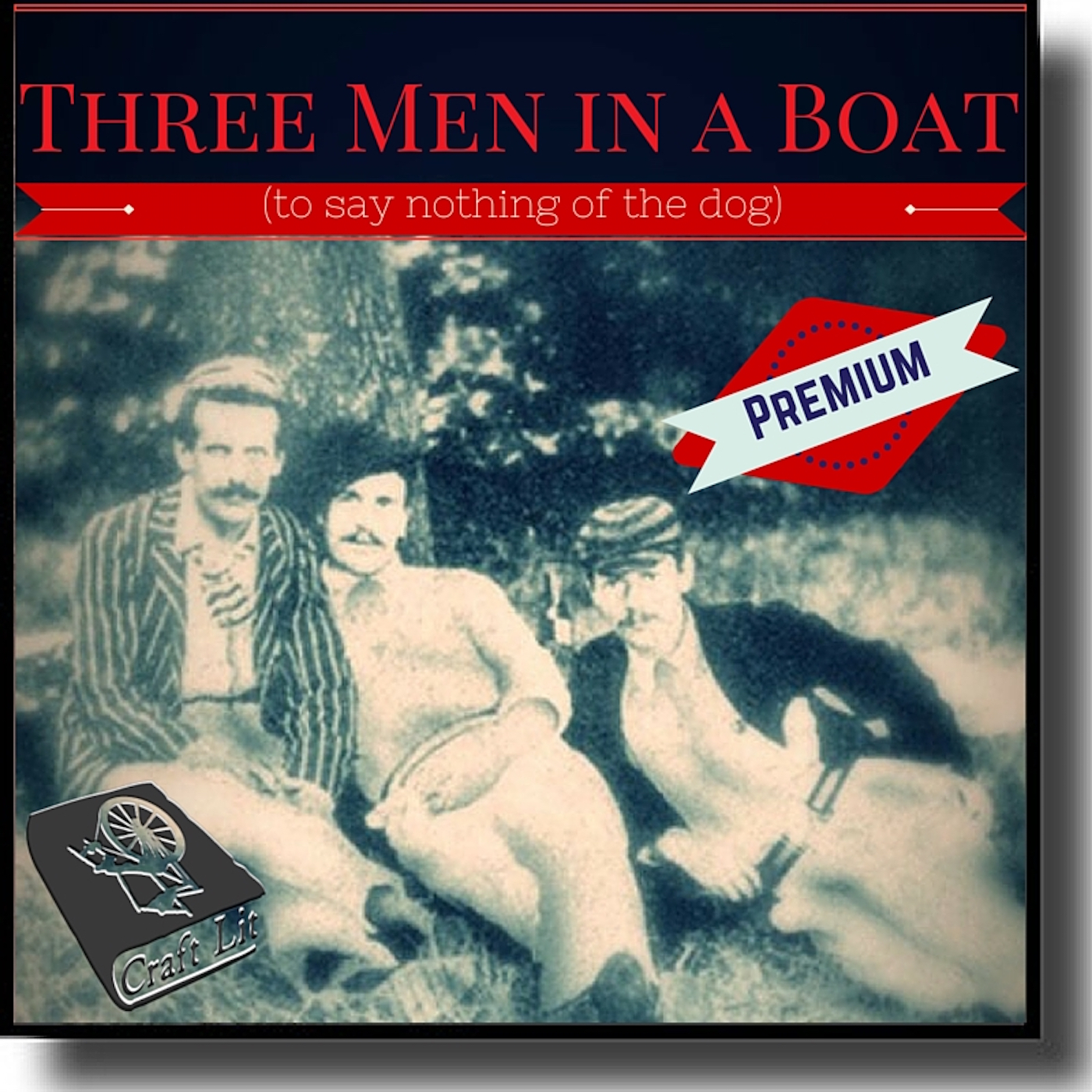 Artwork for Three Men in a Boat - 17 - Jerome K Jerome