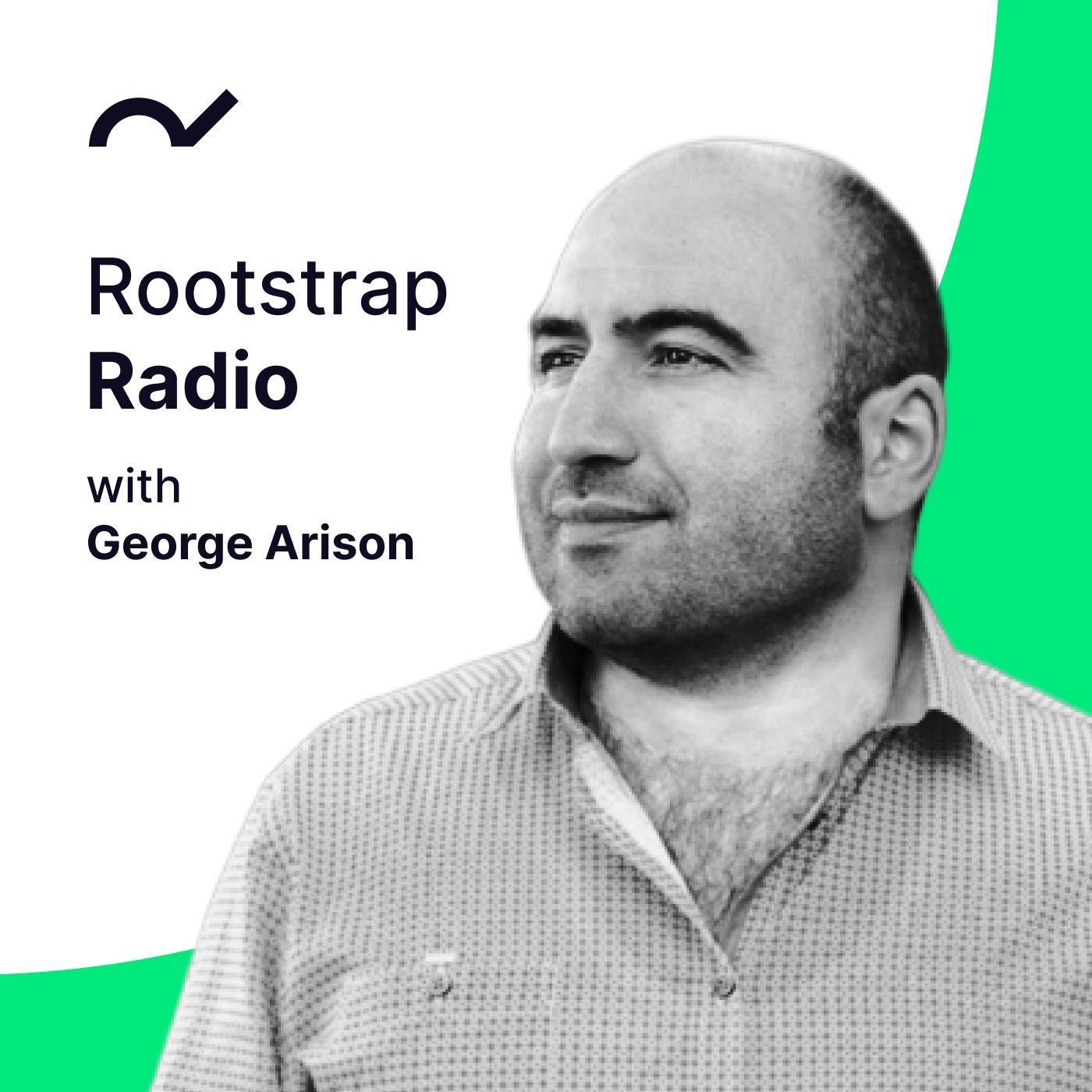 14: George Arison | Rootstrap Radio show art