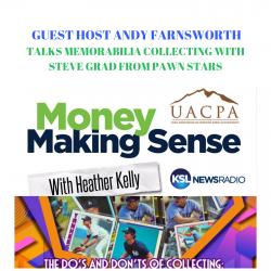 Money Making Sense: How to spot an autograph scam with Steve Grad