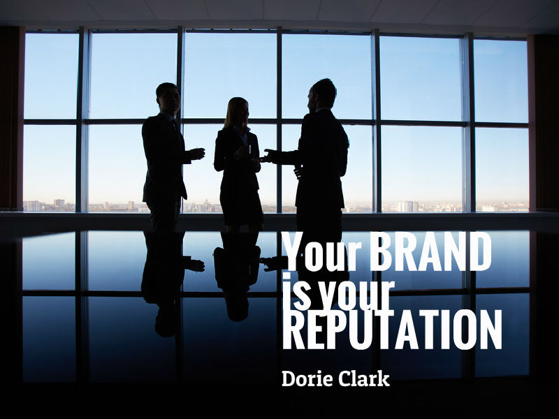 """Finding Your Personal Brand"" with Dorie Clark"