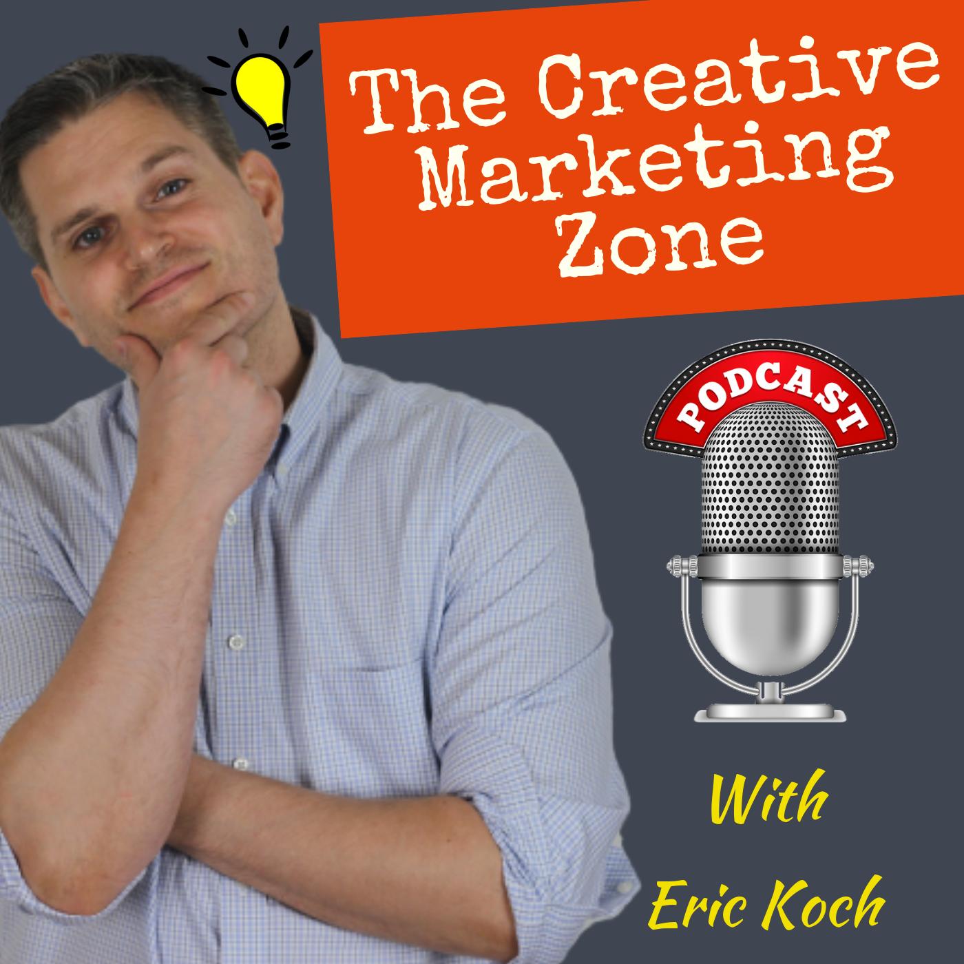 The Creative Marketing Zone Podcast show art