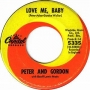 Artwork for Peter and Gordon - Love Me Baby  - Time Warp Song of the Day