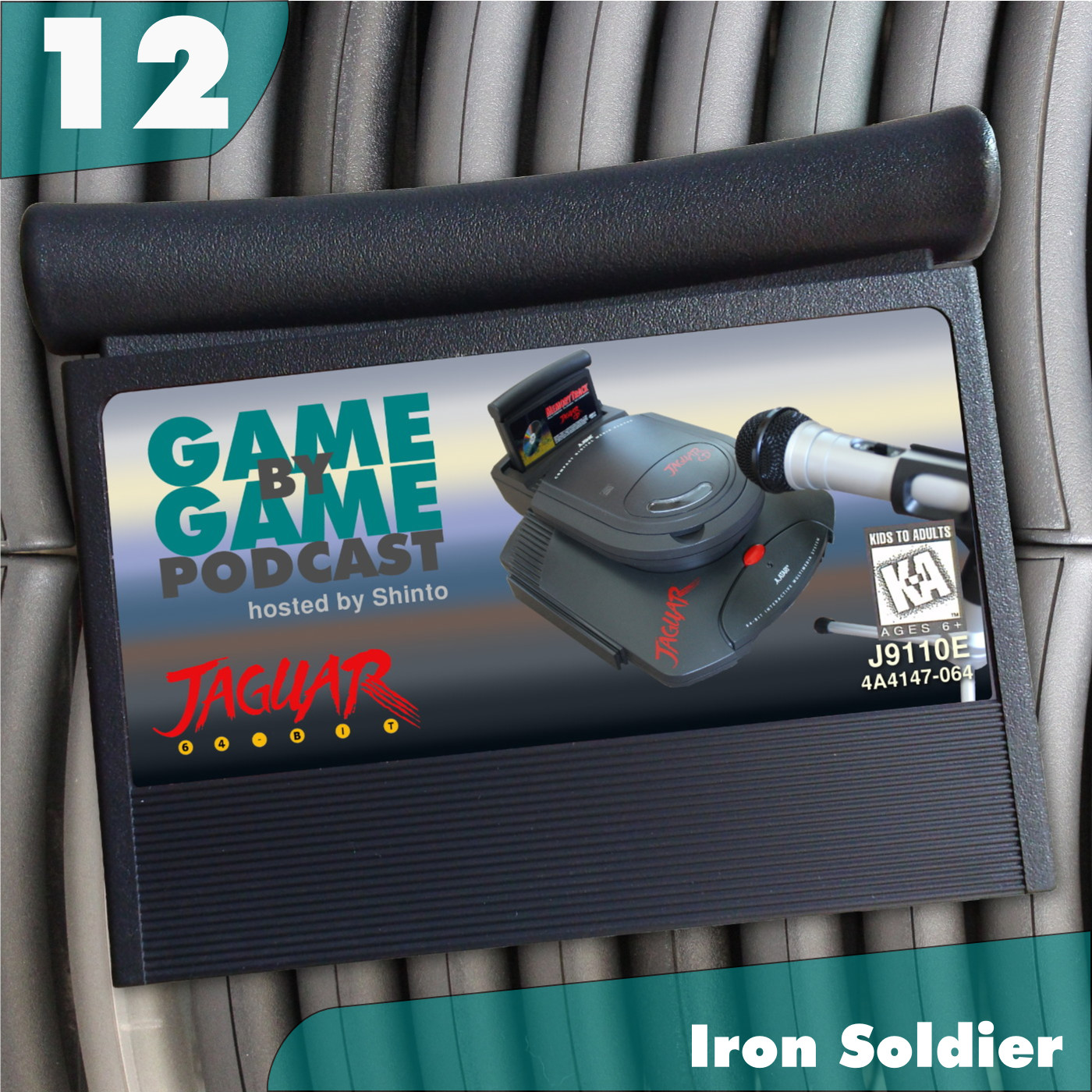 Artwork for 12 - Iron Soldier