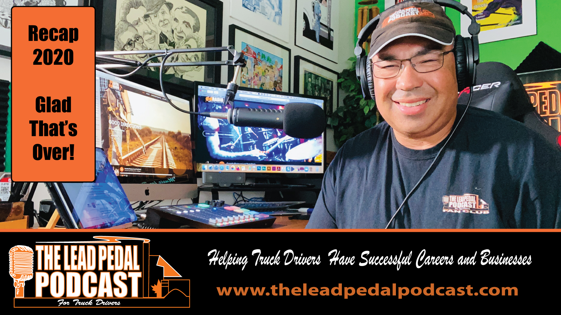 2020 Recap on The Lead Pedal Podcast